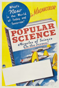 "Movie Posters:Short Subject, Popular Science Stock Poster (Paramount, 1941). One Sheet (27"" X41"").. ..."