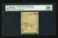 Colonial Notes:Pennsylvania, Pennsylvania April 3, 1772 1s PMG About Uncirculated 50 EPQ....