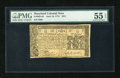 Colonial Notes:Maryland, Maryland April 10, 1774 $2/3 PMG About Uncirculated 55 EPQ....