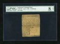 Colonial Notes:Delaware, Delaware June 1, 1759 10s PMG Very Good 8 Net....