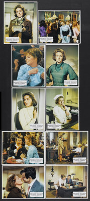"Cactus Flower (Columbia, 1969). International Lobby Cards (10) (9"" X 11.5"") and Photo (7.25"" X 9.25""..."