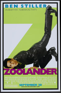 """Zoolander (Paramount, 2001). One Sheet (27"""" X 40"""") DS Advance. Comedy"""