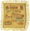 Political:Textile Display (1896-present), Harry S Truman: Souvenir Fringed Pillow Sham....