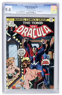 Tomb of Dracula #24 (Marvel, 1974) CGC NM 9.4 Off-white to white pages
