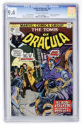 Bronze Age (1970-1979):Horror, Tomb of Dracula #25 (Marvel, 1974) CGC NM 9.4 Off-white to whitepages....