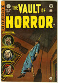 Golden Age (1938-1955):Horror, Vault of Horror #37 (EC, 1954) Condition: FN-....