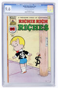 Bronze Age (1970-1979):Humor, Richie Rich Riches #24 File Copy (Harvey, 1976) CGC NM+ 9.6Off-white to white pages....
