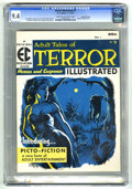 Magazines:Horror, Terror Illustrated #1 Gaines File Copy 11/12 (EC, 1955) CGC NM 9.4Cream to off-white pages....