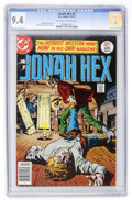 Bronze Age (1970-1979):Western, Jonah Hex #1 (DC, 1977) CGC NM 9.4 Off-white to white pages....