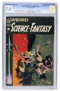 Golden Age (1938-1955):Science Fiction, Weird Science-Fantasy #29 (EC, 1955) CGC FN/VF 7.0 Off-white pages....