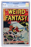 Golden Age (1938-1955):Science Fiction, Weird Fantasy #14 (EC, 1952) CGC VF/NM 9.0 Off-white pages....