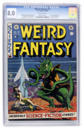 Golden Age (1938-1955):Science Fiction, Weird Fantasy #15 (EC, 1952) CGC VF 8.0 Off-white pages....