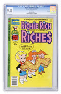 Bronze Age (1970-1979):Humor, Richie Rich Riches #38 File Copy (Harvey, 1978) CGC NM/MT 9.8 Whitepages....