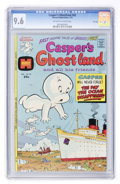Bronze Age (1970-1979):Cartoon Character, Casper's Ghostland #82 File Copy (Harvey, 1975) CGC NM+ 9.6Off-white to white pages....