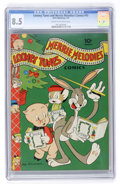 Golden Age (1938-1955):Cartoon Character, Looney Tunes and Merrie Melodies Comics #15 (Dell, 1943) CGC VF+8.5 Cream to off-white pages....