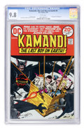 Bronze Age (1970-1979):Science Fiction, Kamandi, the Last Boy on Earth #9 (DC, 1973) CGC NM/MT 9.8 Whitepages....