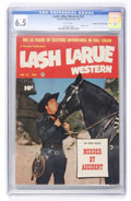 Golden Age (1938-1955):Western, Lash LaRue Western #12 Mile High pedigree (Fawcett, 1951) CGC FN+6.5 White pages....