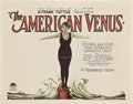 """Movie Posters:Comedy, The American Venus (Paramount, 1926). Title Card and Lobby Card (11"""" X 14"""").. ... (Total: 2 Items)"""