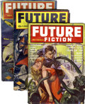 Pulps:Science Fiction, Future Fiction Group (Columbia, 1940-42) Condition: AverageFN/VF.... (Total: 11 Items)