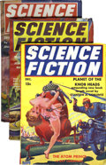 Pulps:Science Fiction, Science Fiction Group (Blue Ribbon Magazines, 1939-41) Condition:Average FN/VF.... (Total: 8 Items)