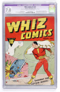 Golden Age (1938-1955):Superhero, Whiz Comics #2 (#1) (Fawcett, 1940) CGC Apparent FN/VF 7.0 Extensive (P) Cream to off-white pages....