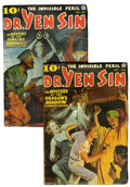 Pulps:Detective, Dr. Yen Sin Pulp Group (Popular, 1936).... (Total: 2 Items)