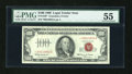 Small Size:Legal Tender Notes, Fr. 1550* $100 1966 Legal Tender Note. PMG About Uncirculated 55.. ...