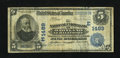 National Bank Notes:Maryland, Baltimore, MD - $5 1902 Date Back Fr. 590 The National Union Bankof Maryland Ch. # (E)1489. ...
