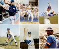 Autographs:Photos, New York Mets Stars Signed Photographs Lot of 9....