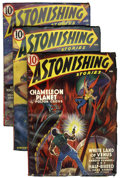 Pulps:Science Fiction, Astonishing Stories Group (Fictioneers Inc., 1940-43) Condition:Average FN+.... (Total: 16 Items)