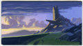 Animation Art:Production Drawing, The Lion King Animation Concept Painting Original Art (Disney, 1994)....