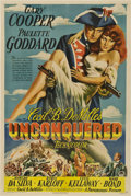 "Movie Posters:Adventure, Unconquered (Paramount, 1947). One Sheet (27"" X 41"").. ..."
