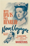 """Movie Posters:Romance, Now, Voyager (Warner Brothers, 1942). One Sheet (27"""" X 41"""").. ..."""
