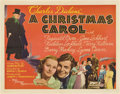 "Movie Posters:Drama, A Christmas Carol (MGM, 1938). Half Sheet (22"" X 28"").. ..."