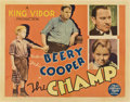 "Movie Posters:Drama, The Champ (MGM, 1931). Half Sheet (22"" X 28"").. ..."
