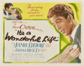 "Movie Posters:Drama, It's a Wonderful Life (RKO, 1946). Title Lobby Card (11"" X 14"")....."