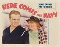 "Movie Posters:Comedy, Here Comes the Navy (Warner Brothers, 1934). Lobby Card (11"" X 14"").. ..."