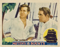 "Movie Posters:Adventure, Mutiny on the Bounty (MGM, 1935). Lobby Card (11"" X 14"").. ..."