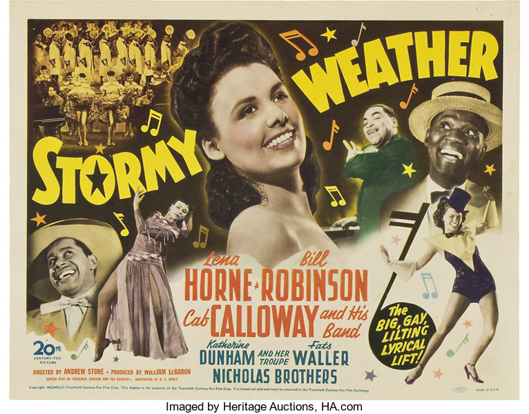 Stormy Weather (20th Century Fox, 1943)  Title Card and