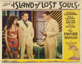 "Movie Posters:Horror, Island of Lost Souls (Paramount, 1932). Lobby Card (11"" X 14"").. ..."