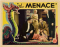 """Movie Posters:Crime, The Menace (Columbia, 1932). Lobby Card (11"""" X 14"""").. ..."""