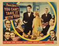 "Movie Posters:Comedy, You Can't Take it with You (Columbia, 1938). Lobby Card (11"" X14"").. ..."