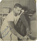 Autographs:Others, Mid-1950's Roy Campanella Signed Yearbook Photograph....