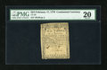 Colonial Notes:Continental Congress Issues, Continental Currency February 17, 1776 $2/3 PMG Very Fine 20....