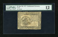 Colonial Notes:Continental Congress Issues, Continental Currency May 20, 1777 $5 PMG Fine 12....