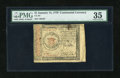 Colonial Notes:Continental Congress Issues, Continental Currency January 14, 1779 $1 PMG Choice Very Fine35....