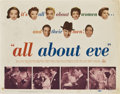 "Movie Posters:Drama, All About Eve (20th Century Fox, 1950). Title Card and Lobby Cards(2) (11"" X 14"").. ... (Total: 3 Items)"