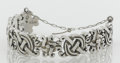 Silver Smalls:Other , A MEXICAN SILVER BRACELET. William Spratling, Taxco, Mexico, circa1940. Marks: WS, 980, TAXCO. 7 inches long (17.8 cm)...