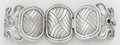 Silver & Vertu:Smalls & Jewelry, A MEXICAN SILVER PLATED BRACELET. Designed by William Spratling, Taxco, Mexico . Made by Silson Inc., New York, New York, ci...