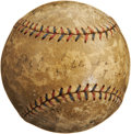 Autographs:Baseballs, 1908 Boston Red Sox Team Signed Baseball....